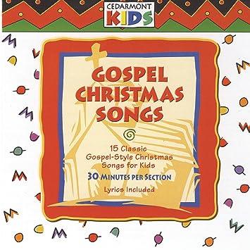 cedarmont kids gospel christmas songs amazoncom music