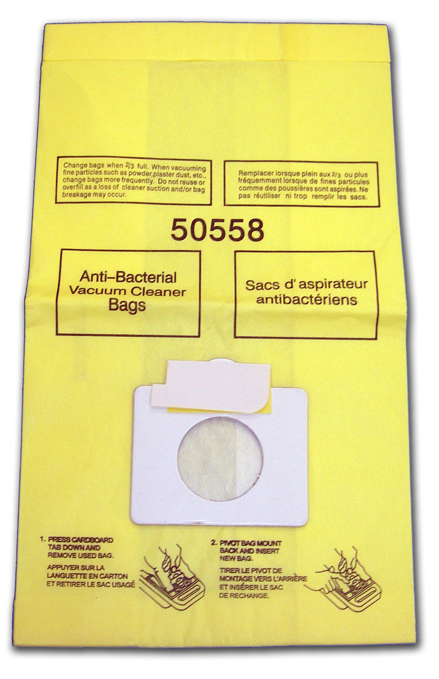 EnviroCare Replacement Vacuum Bags for Kenmore Canister Type C or Q 50555, 50558, 50557 and Panasonic Type C-5 27 Pack