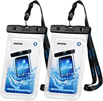 Mpow Universal Waterproof Case,IPX8 Waterproof Phone Pouch Underwater Dry Bag Compatible with iPhone Xs/XS Max/XR/X/8/8...