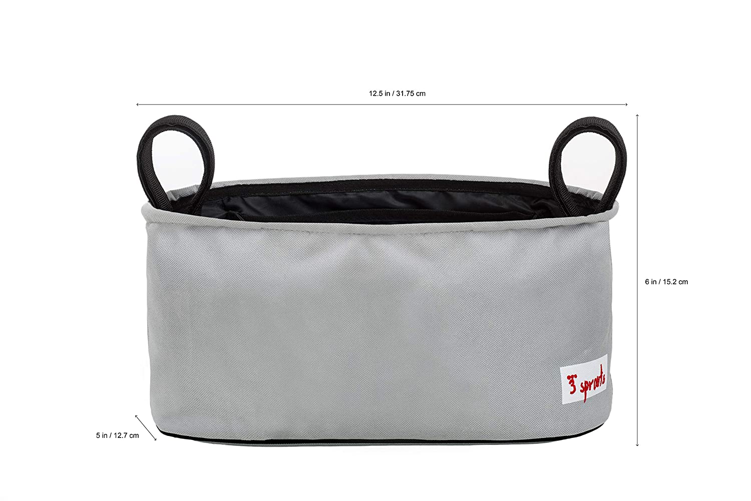 9d54de637fa06 Amazon.com : 3 Sprouts Universal Stroller Organizer - Baby Jogger Caddy  with Cup Holder : Baby Stroller Attachable Organizers : Baby