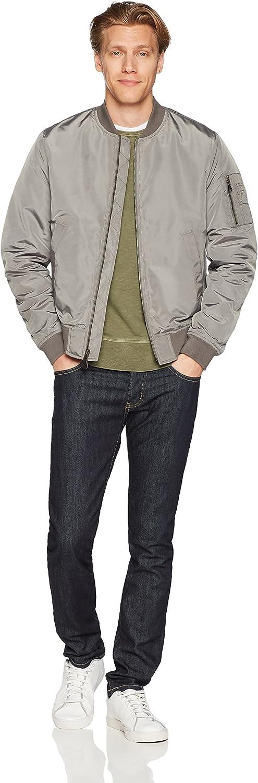 Brand - Goodthreads Men's Bomber Jacket: Clothing