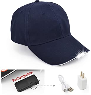 UltraKey Hands Free LED Baseball Cap Light Glow Bright Women Men Sport Hat  Dark for Outdoor b2dbfa9cfa55