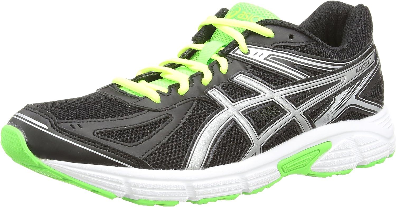 ASICS Patriot 7 - Zapatillas De Deporte Para Hombre, Color Negro (Onyx/Silver/Flash Green 9993), Talla 48 EU (12 UK): Amazon.es: Zapatos y complementos
