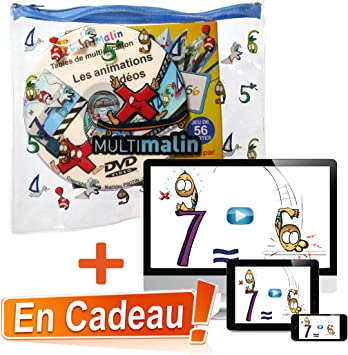 Multimalin Trousse Tables De Multiplication Amazon Fr Jeux Et Jouets