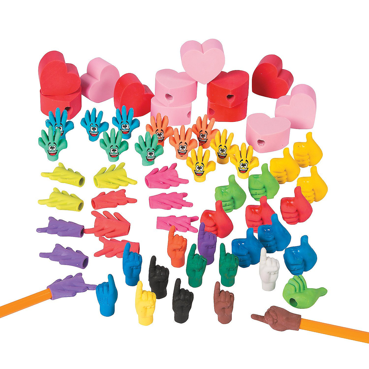 Pencil Topper Eraser Assortment