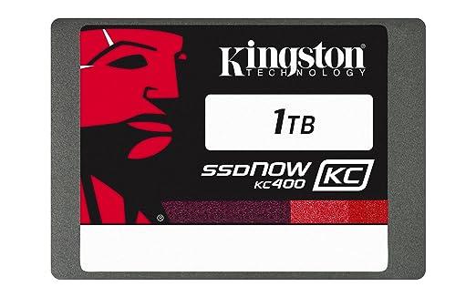 """17 opinioni per Kingston KC400 SSDNow da 1 TB, SATA III, 2.5"""", 7 mm di Spessore, Argento"""