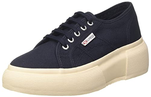 Superga 2790Cotw Linea Up And Down, Zapatillas Unisex, Azul (933 Navy), 36