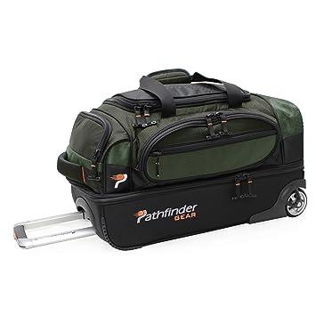 Amazon.com: Pathfinder Gear - Bolsa de viaje con ruedas ...