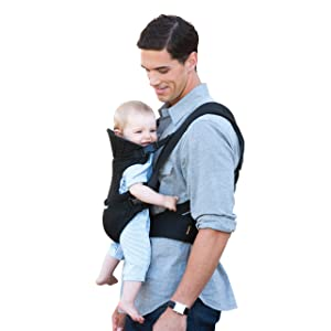 The Best Front Facing Baby Carrier:  Infantino Flip Front 2 Back