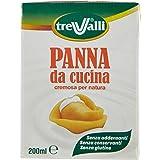 TreValli - Panna da Cucina, cremosa per natura - 200 ml