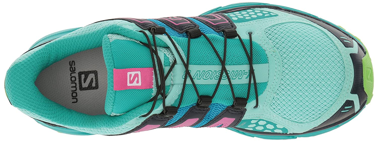 Salomon B(M) Women's X-Mission 3 W-w B01HD1V27S 9 B(M) Salomon US|Aruba Blue/Navy Blazer/Green Flash 1fcdf6