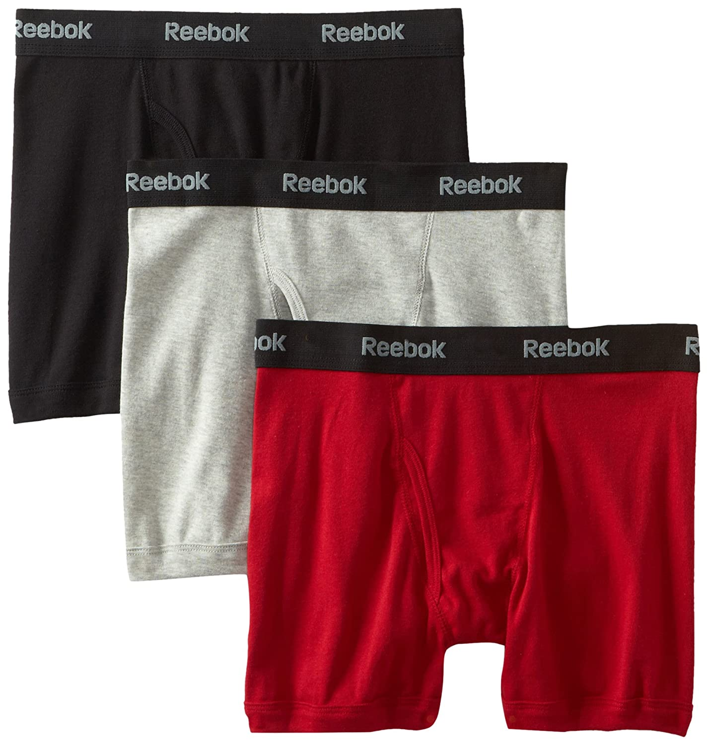 Reebok Mens 3pk Cotton Boxer Brief