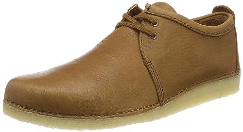 Clarks Originals Ashton Boot Boots 46 EU Oak Suede: Amazon