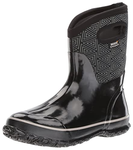 Women's Classic Triangles Mid Snow Boot