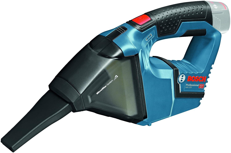 Bosch Professional GAS 12 V-LI Akku-Staubsauger (0, 35 L Behä ltervolumen, 0, 87kg, ohne Akku, click&go ohne Ladegerä t in L-BOXX) 06019E3001