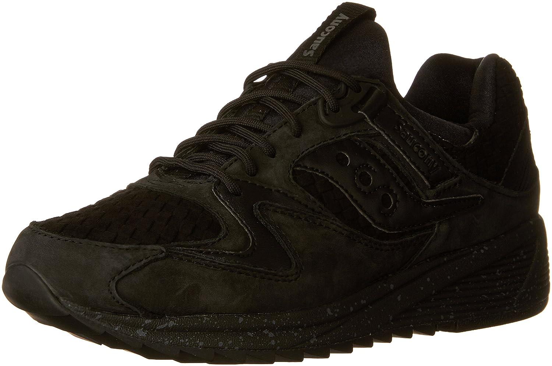 Saucony herrar Grid 8500 Basketweve Basketweve Basketweve skor, svart, USA 8.5 M  gratis frakt!