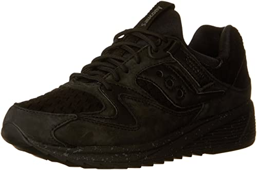 00aaccbabd Saucony Mens Grid 8500 Leather Low Top Lace Up Trail Running Shoes