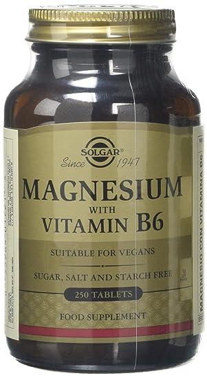 Magnesio y vitamina b6