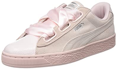 check out 8590c ae236 Amazon.com | PUMA Women's Suede Heart Bubble WN's Trainers ...