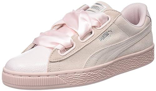 bea71b179a143 Puma Women s Suede Heart Bubble WN s Pearl Sneakers-3.5 UK India (36 EU