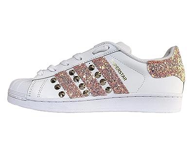 adidas maroon glitter scarpe