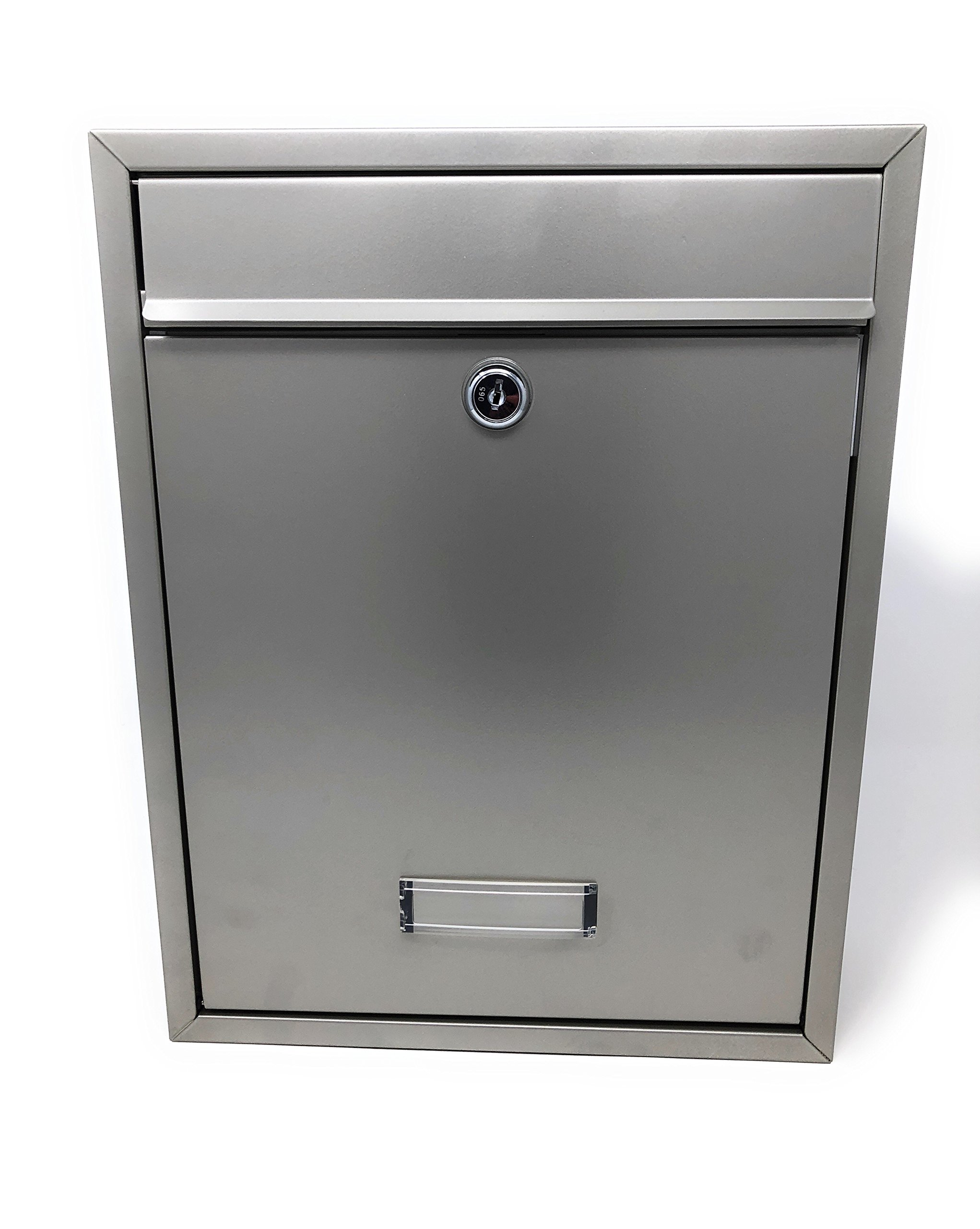 Gibraltar Locking Wall Mountable Mail Box, Payment-Suggestion Box Standard Compacity