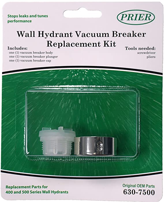 Prier 630-7500 Vacuum Breaker Service Parts Kit, Fits for series 400/500, Original Version