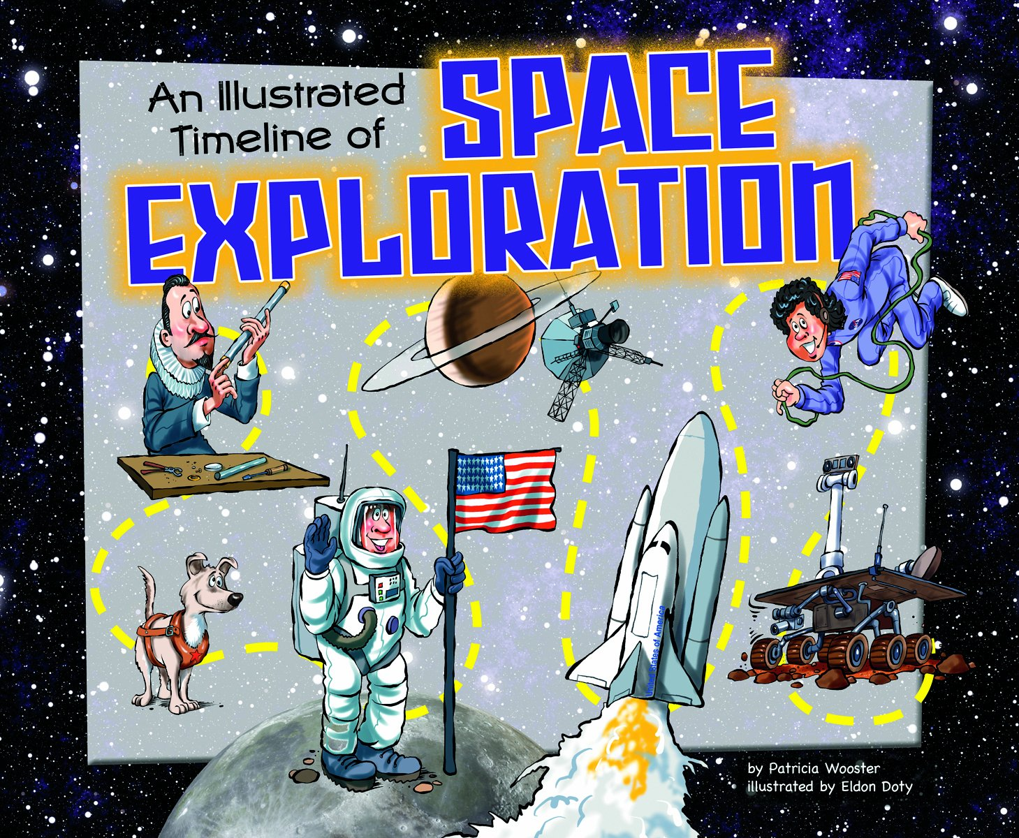 Read Online An Illustrated Timeline of Space Exploration (Visual Timelines in History) pdf epub