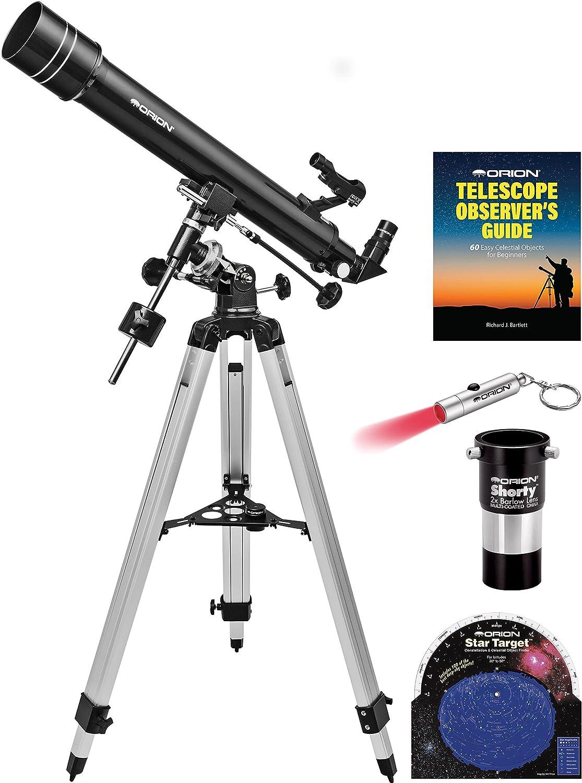 Orion Observer II 70mm Equatorial Refractor Telescope Kit