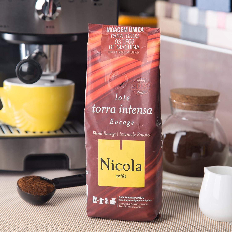 Amazon.com : Nicola Premium Ground Coffee (Intensily Roasted, Pack of 1) : Grocery & Gourmet Food