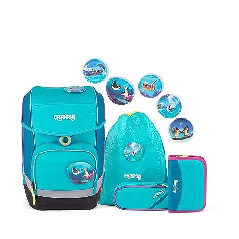 ergobag cubo Schulranzen-Set für Kinder in der Grundschule - Hula HoopBär