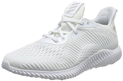 adidas uomini alphabounce em m, bianco / bianco a correre
