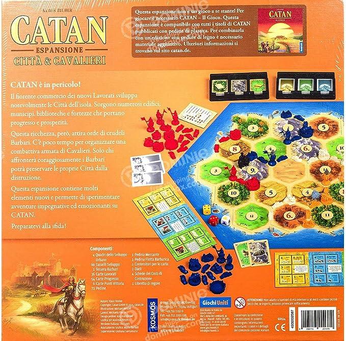 Giochi Uniti gu524 – I Coloni di Catan: Ciudades y Caballeros ...