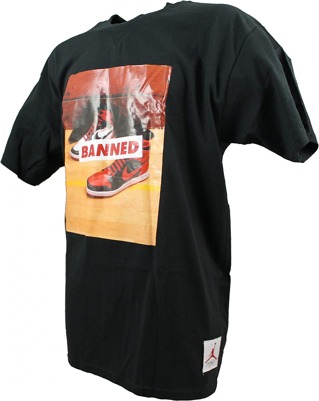 Nike Air Jordan Graphic Banned – Classic Flight – Camiseta Camiseta Negro Negro XXL: Amazon.es: Ropa y accesorios
