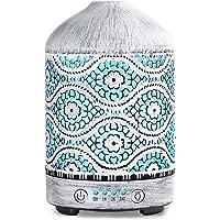 SALKING Difusor Aromaterapia,Humidificador Aceites Esenciales Vaporizador,100ml Humidificador Ultrasónico