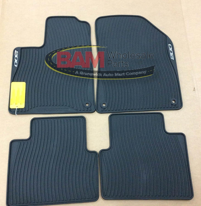 Rubber floor mats for lincoln mkx - Amazon Com 2015 Chrysler 200 All Weather Rubber Slush Floor Mats Set Of 4 Front Rear Mopar Genuine Oem Brand New Factory Automotive