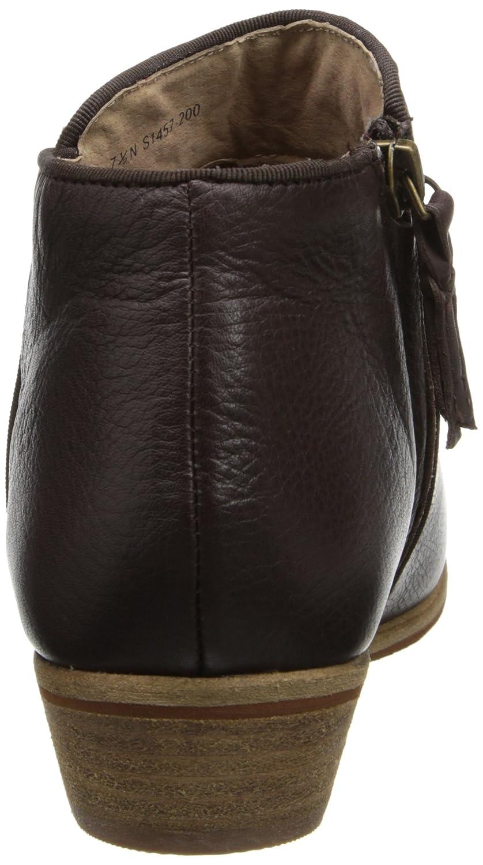 SoftWalk Women's Rocklin Chelsea Boot B00HQNG6WK 12 W US|Dark Brown