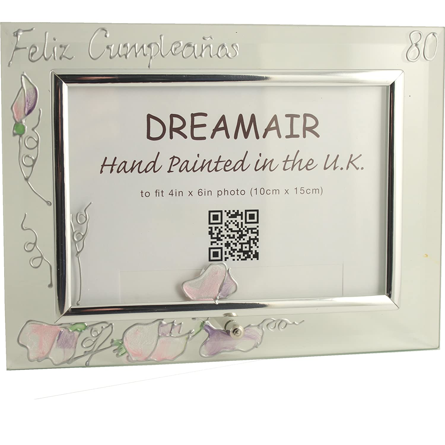 Amazon.com - Dreamair 80 Feliz Cumpleaños Photo Frame Sweet ...