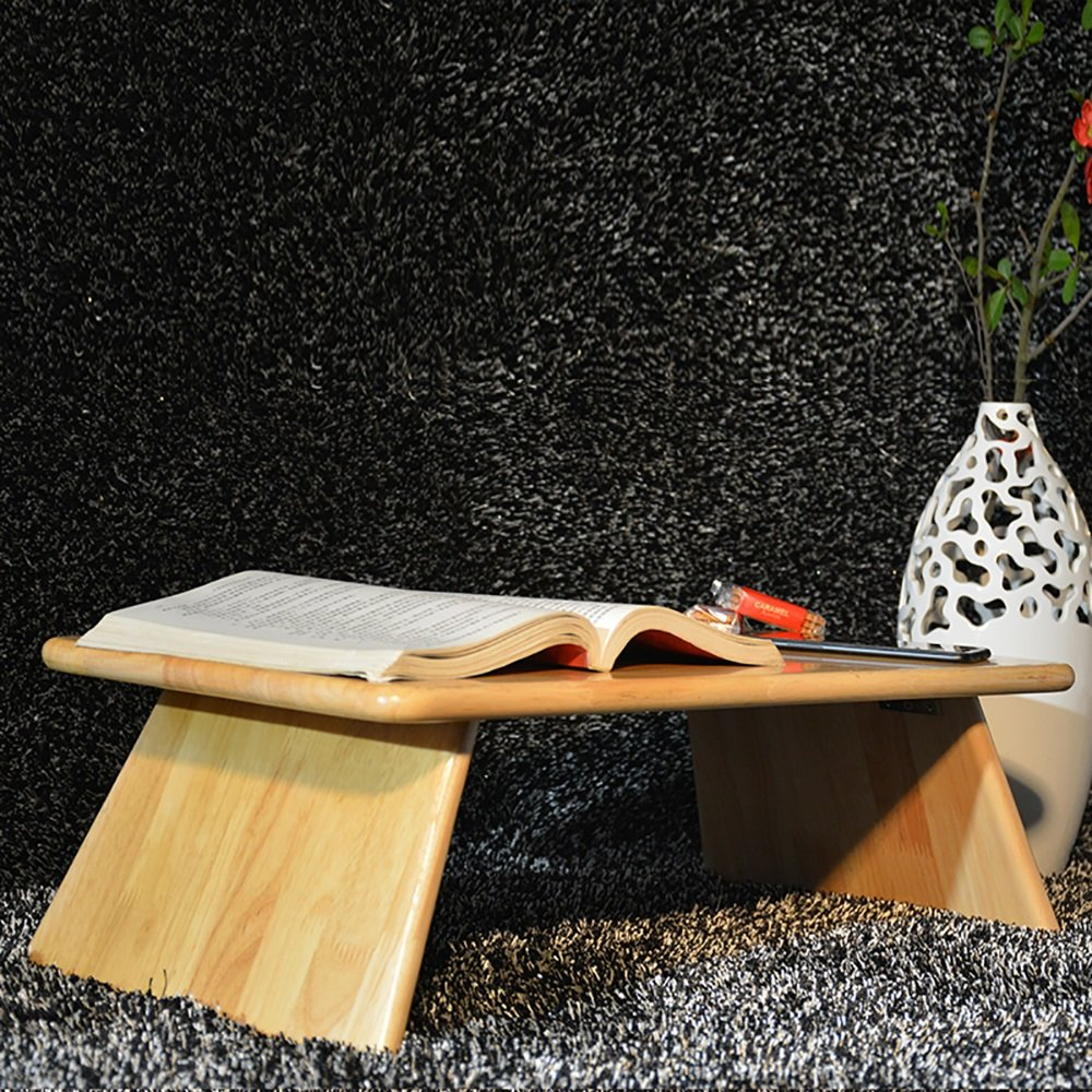 JIANPING Lettino da Gioco Computer con Tavolo Pieghevole in Legno massello con Dimensioni 60X20X30 cm Tavolo Color : 1#