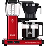 Moccamaster CD - KBG 741 Select - Metallic Red Kaffemaskin, 1.25L, Röd