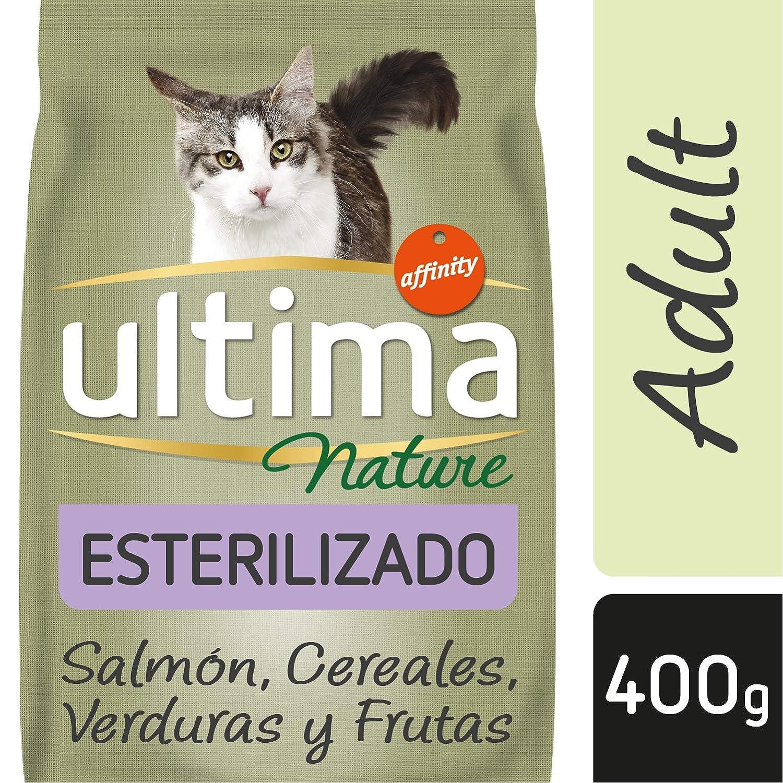 Ultima Nature Pienso para Gatos Esterilizados con Salmón - 400 gr: Amazon.es: Alimentación y bebidas