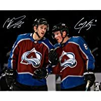"$83 » Cale Makar & Mikko Rantanen Colorado Avalanche Autographed 16"" x 20"" Spotlight Photograph - Fanatics Authentic Certified"