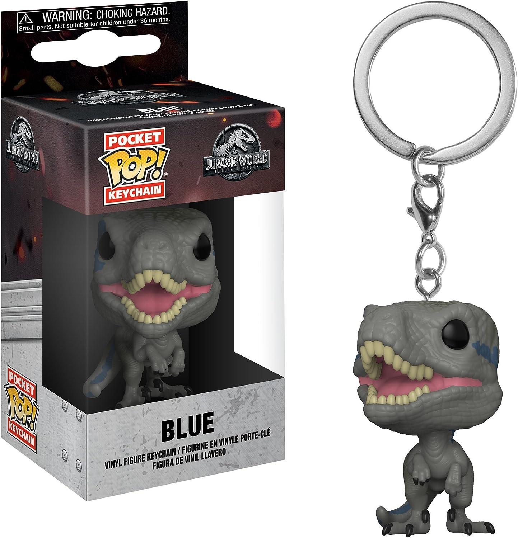 Funko Pop Keychain: Jurassic World 2 - Blue Velociraptor Collectible Figure