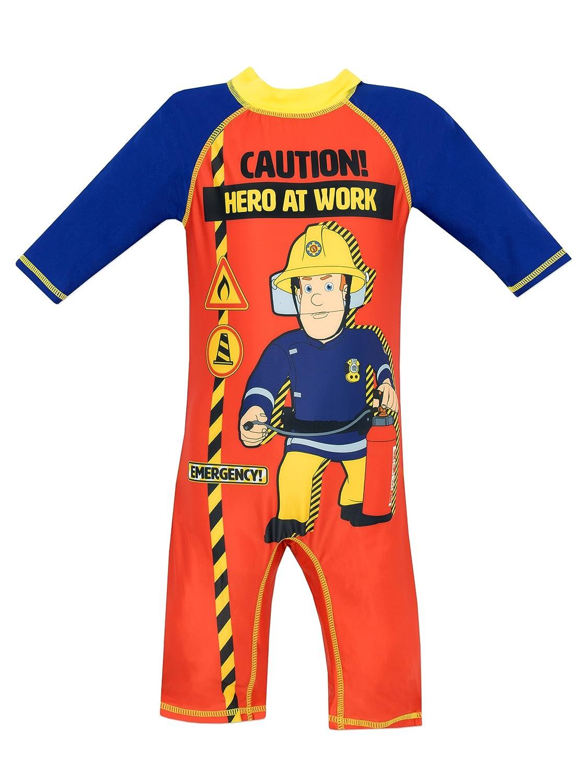 Fireman Sam Boys Swimsuit