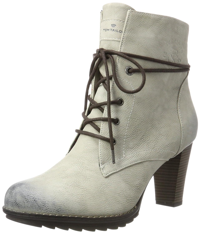 TOM Tailor 3790403 - Botines Mujer Blanco (Offwhite)