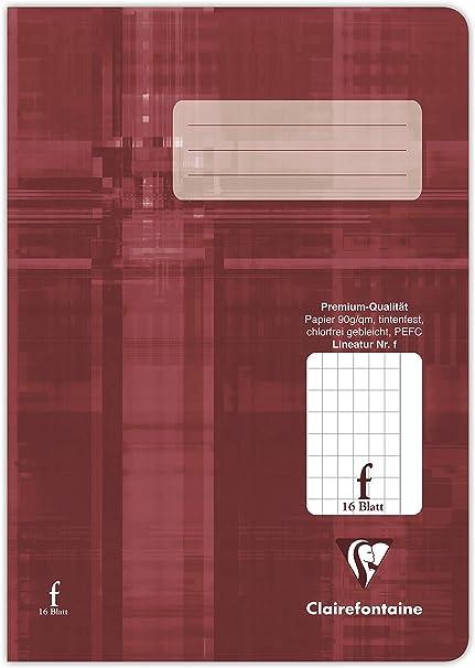 Clairefontaine 331508C - Cuaderno (A5, a rayas, 90 g, pack de 25, 16 hojas): Amazon.es: Oficina y papelería