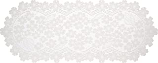 product image for Heritage Lace Dogwood 14 inches x 33 inches Runner, Ecru