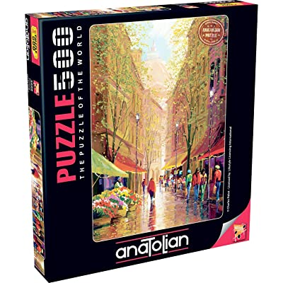 Anatolian Puzzle - Florence, 500 Pieces Jigsaw Puzzle, 3609, Brown/A (ANA3609): Toys & Games