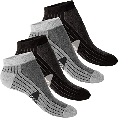 KIDS Low Cut Socks cotton quarter socks for girls or boys 10 pairs nice colours Footstar SNEAK-IT