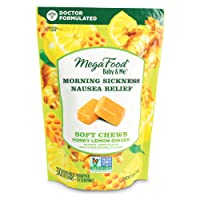 MegaFood, Morning Sickness Nausea Relief Soft Chews, A Baby & Me Vitamin to Support...
